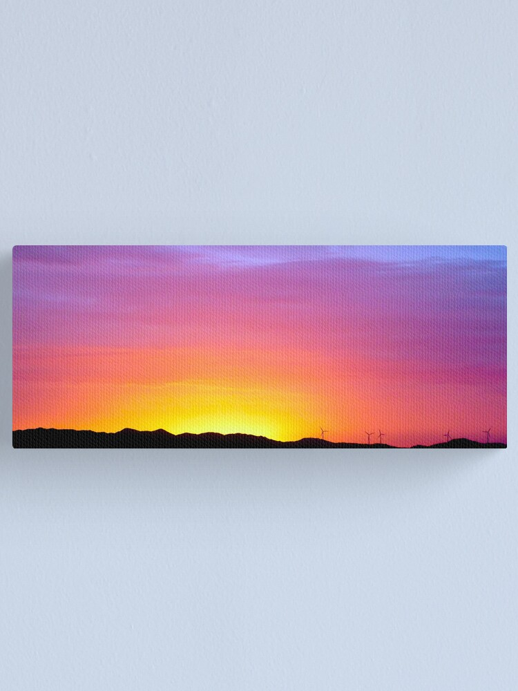 Alternate view of Sunset at Albany Canvas Print