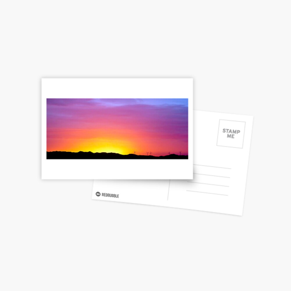 Sunset at Albany Postcard