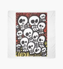 Day of the Dead Sugar Skull Crowd Scarf