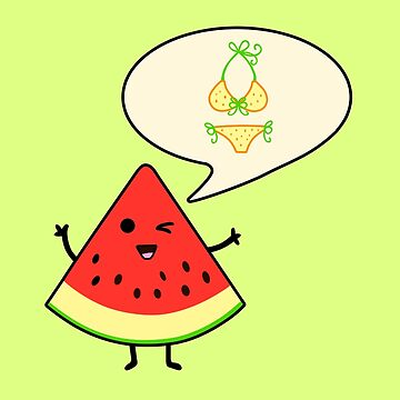 Watermelon summer time by clockworkheart