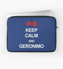 Keep calm and geronimo Laptop Sleeve