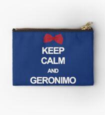 Keep calm and geronimo Studio Pouch