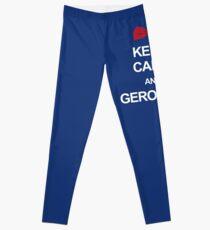 Keep calm and geronimo Leggings