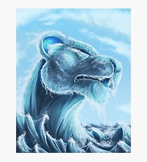 Water Lion Photographic Print