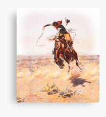 Wild West Series Bad Horse Canvas Print