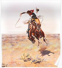 Wild West Series Bad Horse Poster