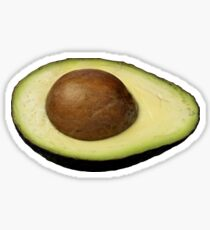 Avocado Half Sticker