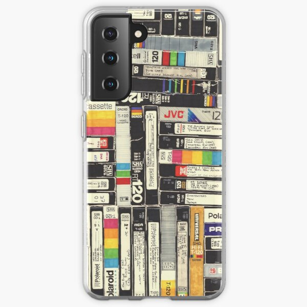 VHS Samsung Galaxy Soft Case
