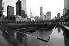 North Tower Memorial Pool by John Schneider