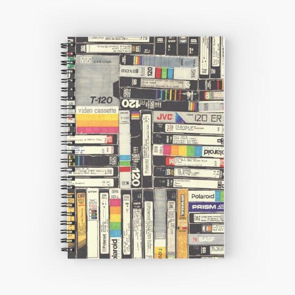 VHS Spiral Notebook