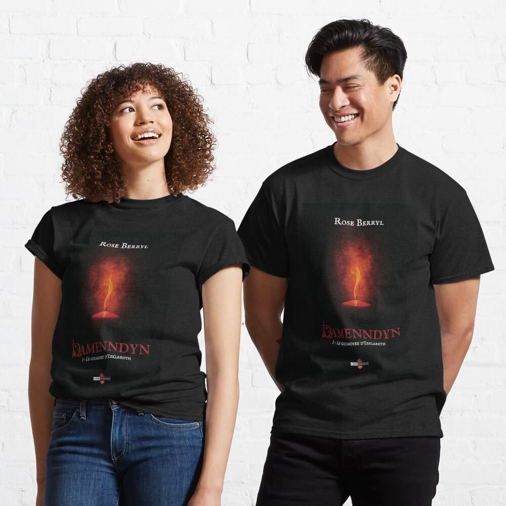T-shirt classique «Damenndyn - Le grimoire d'Esklaroth»