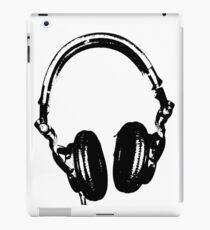 DJ Headphones Stencil Style iPad Case/Skin