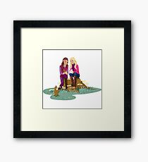 Fashion Girls Framed Print