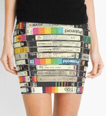 VHS Stack Mini Skirt