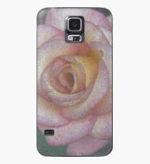 Single Pink Rose Case/Skin for Samsung Galaxy