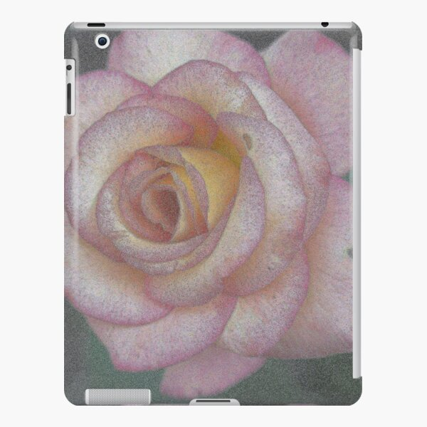 Single Pink Rose iPad Snap Case