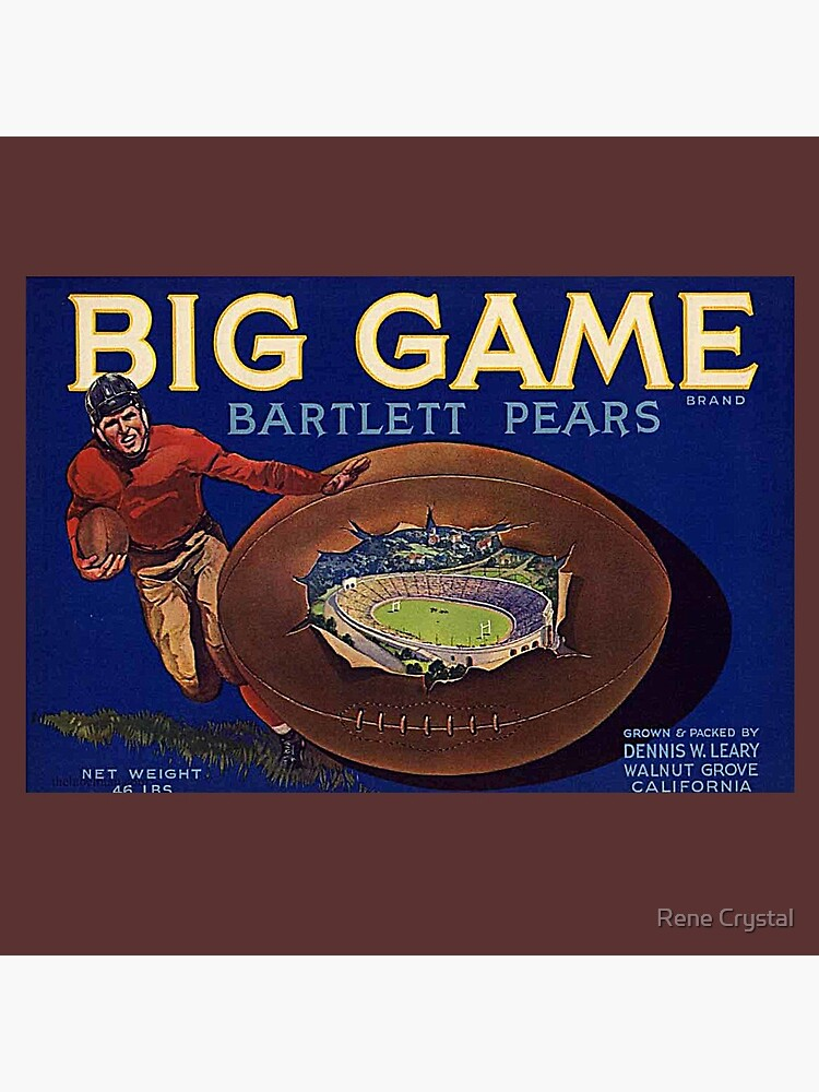 1930s Football Game Cal-Stanford by imagesbycrystal