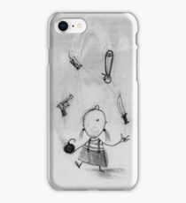 Dangerous juggling iPhone Case/Skin