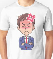 Business man angry. T-Shirt