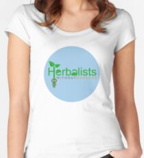 Herbalists Without Borders International Fitted Scoop T-Shirt