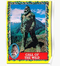 Call of the Wild - Harry and the Hendersons Poster