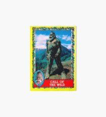 Call of the Wild - Harry and the Hendersons Art Board