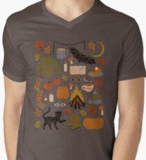 Autumn Nights V-Neck T-Shirt