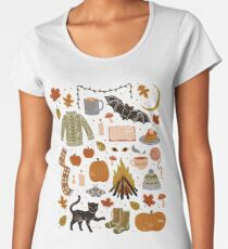 Autumn Nights Women's Premium T-Shirt