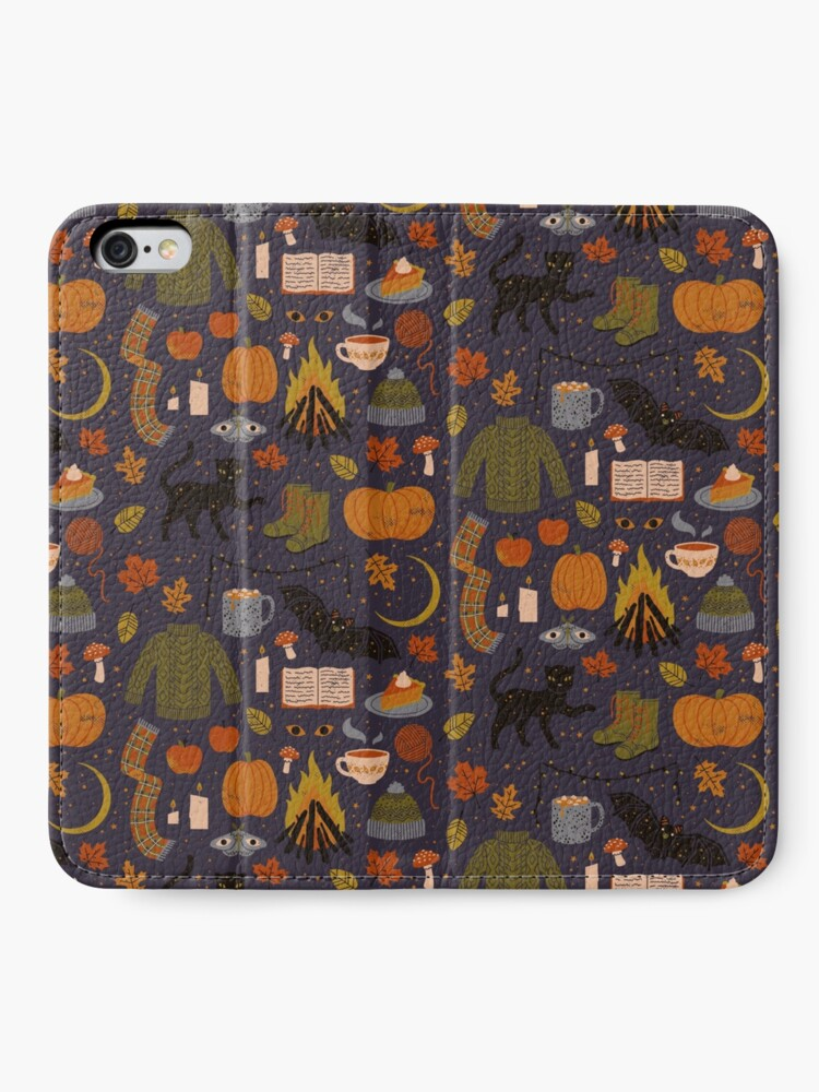 Alternate view of Autumn Nights iPhone Wallet