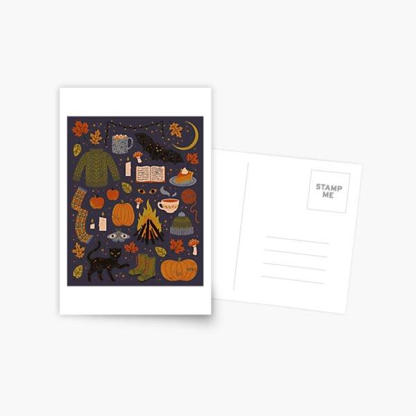 Autumn Nights Postcard