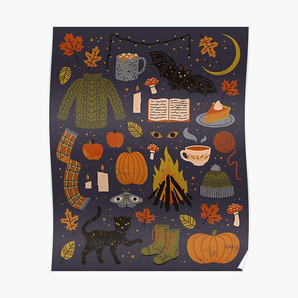 Autumn Nights Poster