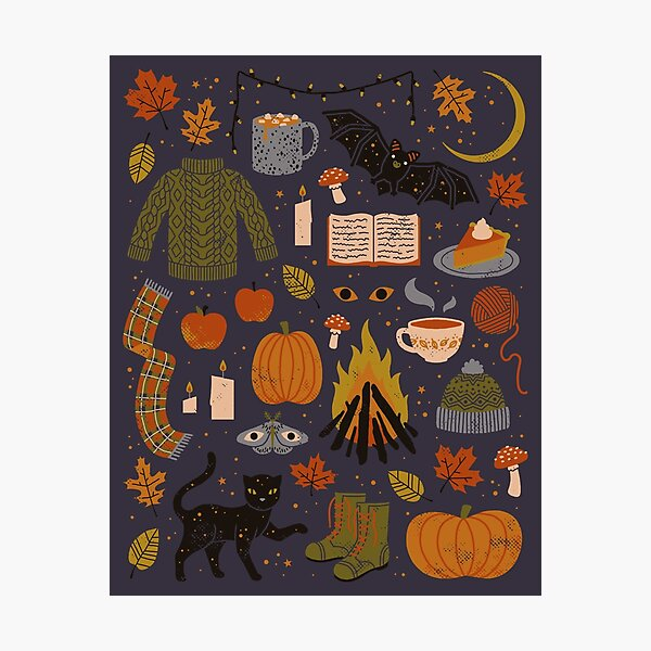 Autumn Nights Photographic Print