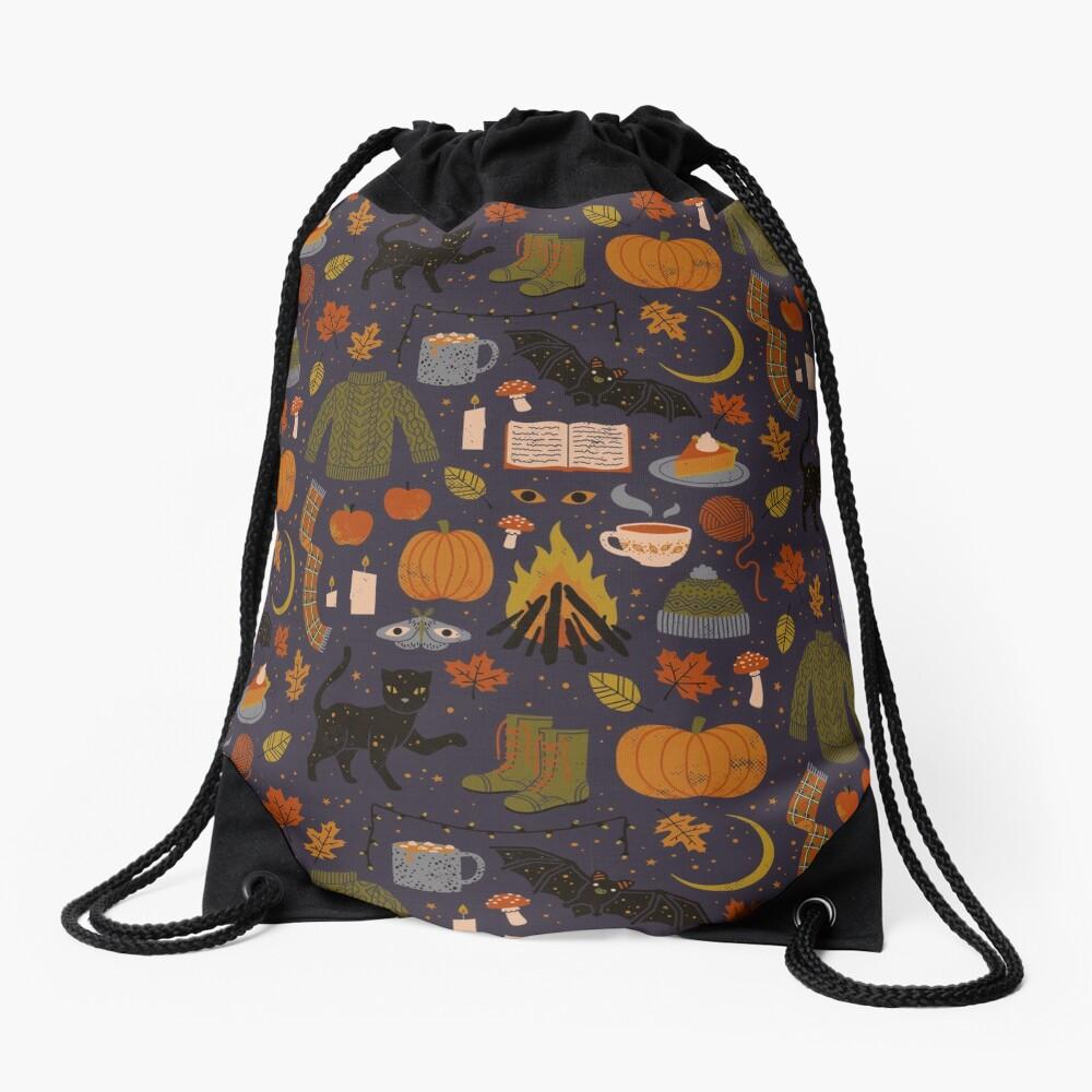 Autumn Nights Drawstring Bag