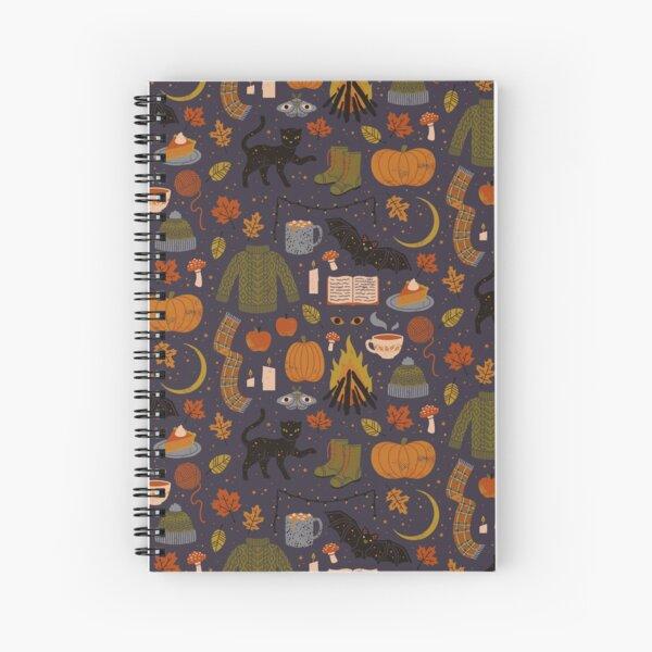 Autumn Nights Spiral Notebook
