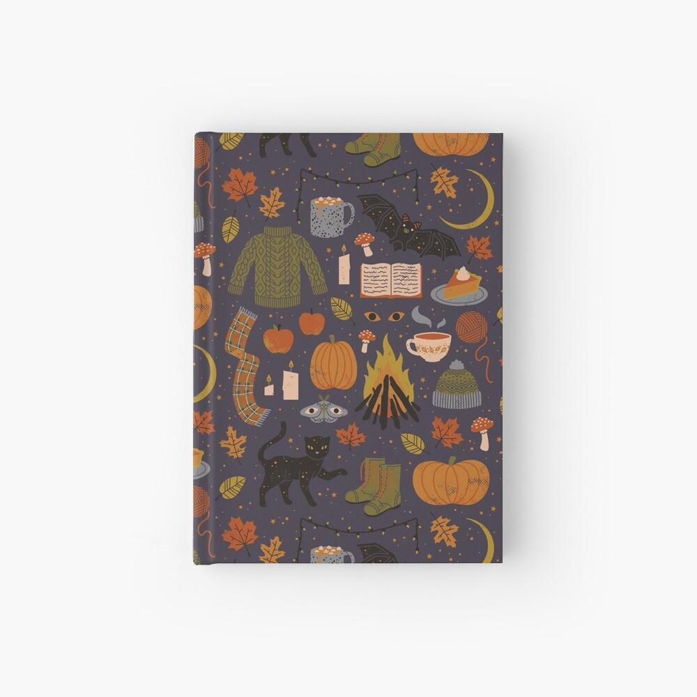 Noches de otoño Cuaderno de tapa dura