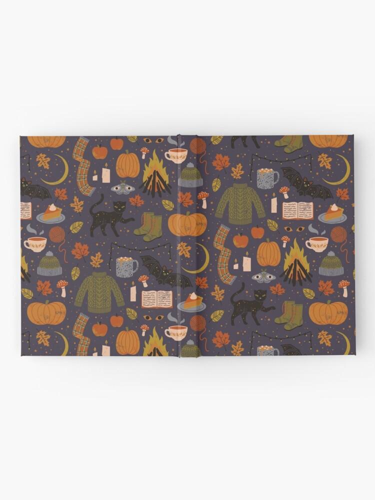 Vista alternativa de Cuaderno de tapa dura Noches de otoño