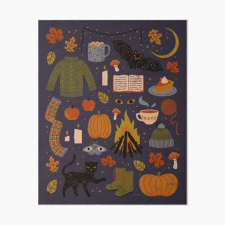 Autumn Nights Art Board Print