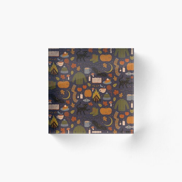 Autumn Nights Acrylic Block