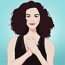 Jenny Slate by goshelbygo