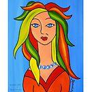 Self Portrait of the Artist by JanetAnn