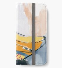 It's Bananas Abstract Art Print iPhone Wallet
