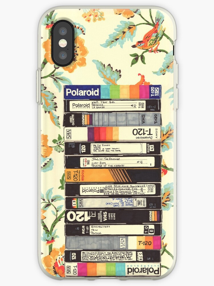 Vhs Entry Hall Wallpaper Iphone Cases Covers By Hollis Brown