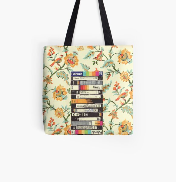 VHS & Entry Hall Wallpaper All Over Print Tote Bag