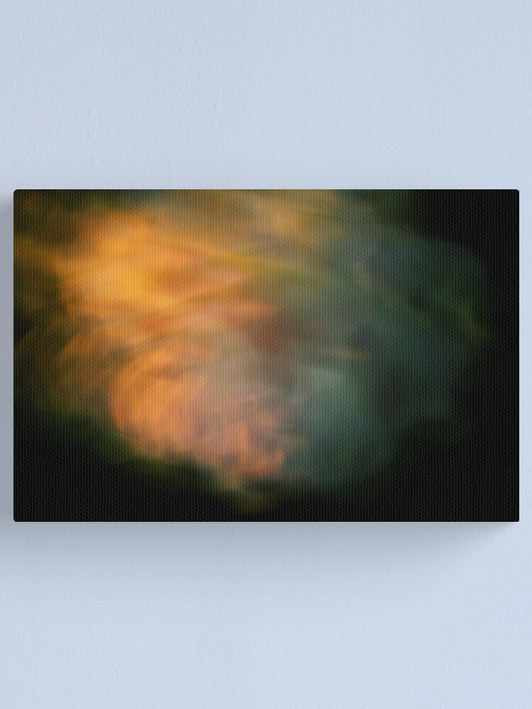 Alternate view of Night Winds & Roses Canvas Print