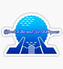 To the next 30,000 years Sticker