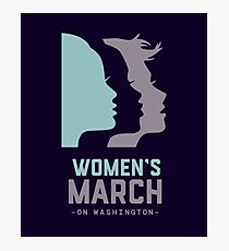 Women's March 2017 On Washington Photographic Print
