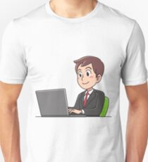 Business man working. T-Shirt