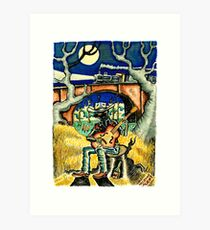 Hank Williams Ramblin Man Art Print