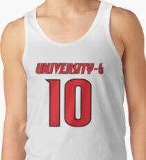 University-6 Player 10 Louisville NCAA Scandal Tank Top
