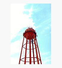 Beach Haven Water Tower Long Beach Island, New Jersey Photographic Print